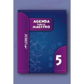 Agenda para el maestro 5º