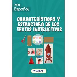 Características y estructura de los textos instructivos