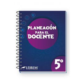 Planeación para el Docente 5º - 2021