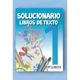 Solucionario Libros de Texto 1º